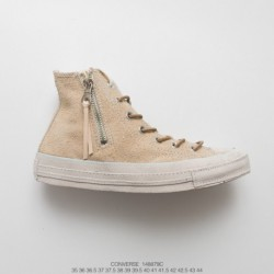 879c FSR, Converse Retro 1970s All Star Suede Leather Zipper Puemium It Limited Edition High Substance Look And Style Using Tea