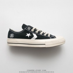 1c406 Stussy X Converse 70s Sdeluxe Cx-pro Star Arrow Vintage Duck Shoes Out Of Print Retro Not To Be Missed Based On The Origi