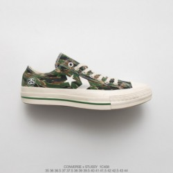 1c408 Stussy X Converse 70s Sdeluxe Cx-pro Star Arrow Vintage Duck Shoes Out Of Print Retro Not To Be Missed Based On The Origi
