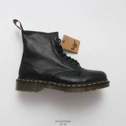 Dr.martens Martin Boots Black Castingleather Oem Order Imports Upper Leather Create PVC Factory Lacing Transparent Outsole Flex
