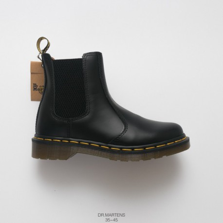 Dr.martens Martin Boots CHELSEA Oem Order Imports Upper Leather Build PVC Factory Lacing Transparent Outsole Flexibility Excell