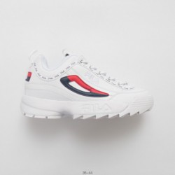 Original Edition FILA Fila Disruptor II 2nd Generation Large Serrated Thick Bottom Leggings All-Match jogging shoe