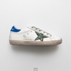 Factory Lacing, Italian Fashion Brand Golden Goose GGDB/Golden goose uomo/Donna donna collection old dirty all-match skate shoe