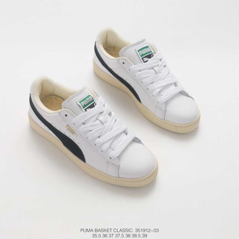 olvidadizo Todavía africano  PUMA Basket Classic White,PUMA Basket White Leather,912-03 Aliexpress, FSR  PUMA Basket Classic All-match Skate shoes Collection