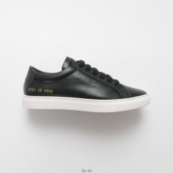 Sneakers brand woman by common projects achilles low classic achilles collection all-match low skate shoes whole black gold num