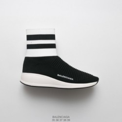 Calvin-Klein-Shoes-Online-2018-Summer-Deadstock-BALENCIAGA-Speed-stretch-knit-High-Street-Socks