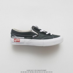 Tribute Ow X Nike Fence Deadstock Vans Vault Slip-on Cap LX Deconstruction Low Lazy Slip-ons/loafers Duck Skate Shoes Low Black