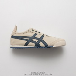 High quality onitsukatiger arthurs ghost tiger collection none weave tape slip-ons/Loafers casual duck shoe