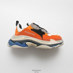UNISEX, Factory Lacing Lasted, 7-layer Combination Abrasives Outsole BALENCIAGA 18fw Autumn And Winter Balenciaga Triple S Neak