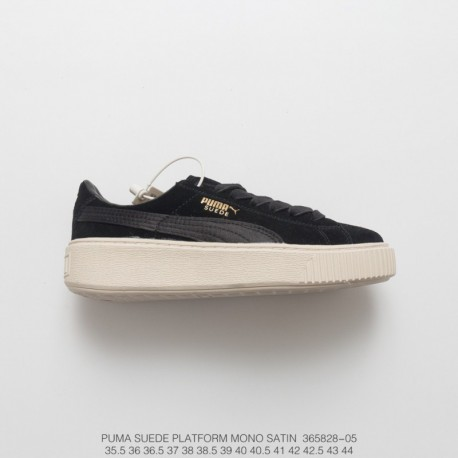 e277a210f2f938 559-05 Original File Data Development PUMA Suede Platform Rihanna Thick-Soled  platform shoes