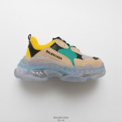 Transparent Air, UNISEX BALENCIAGA Triple S Neaker Fashion Vintage Thick-Soled old sneaker