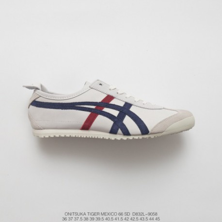 pretty nice e6138 9c106 D832l-9058 Upper FSR UNISEX Onitsuka Tiger MEXICO66 Collection Vintage  Classic All-Match leisure sho