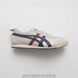 D838l-9058 Upper FSR UNISEX Onitsuka Tiger MEXICO66 Collection Vintage Classic All-Match leisure sho