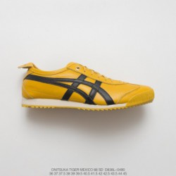 D838l-0490 Upper FSR UNISEX Onitsuka Tiger MEXICO66 Collection Vintage Classic All-Match leisure sho