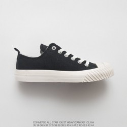 1cl184 all-match Working Wear, 100th Anniversary Of Converse Limited Edition Converse All Star 100 St HEAVYCANVAS OX Thicken Du