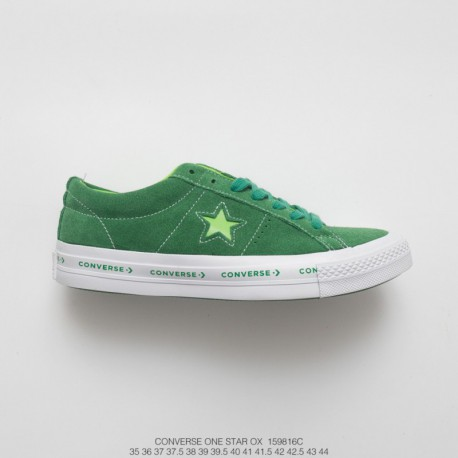 a44a62510b9 816c Midsole String Logo LOGO Trend Design Converse One Star Ox Pinstripe  One Star Collection Suede