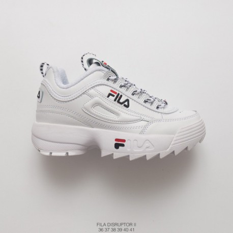 f0f7e9c31760 Fila FILA Disruptor II 2nd Generation 18ss Stringing Large Serrated Thick  Bottom Dad Sneaker String And