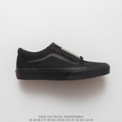 Summer Vans Old School Whole Black Full Duck Classic Low True Vulcanize Suede Couple Shoes Is A Very Worthwhile All-match Casua