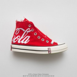 Original Cola Gift Box Mixed Edition Heavy Launch Tripartite K️ X Coca-cola X Converse Chuck Taylor All Star 1970s Mid Duck Vul
