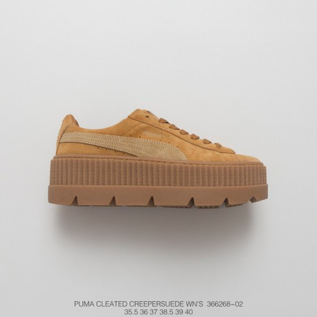 0558aca2884 268-02 PUMA Cleated Creeper Suede 2017ss Pro Outdoor Climbing Edition  Rihanna Thick-Soled