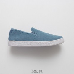 Under-Armour-Slip-On-Under-Armour-Slip-Resistant-Shoes-High-quality-PUMA-Basket-Classic-denim-slip-Slip-OnsLoafers