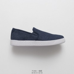 Under-Armour-Slip-On-Shoes-Under-Armour-Non-Slip-Shoes-High-quality-PUMA-Basket-Classic-denim-slip-Slip-OnsLoafers