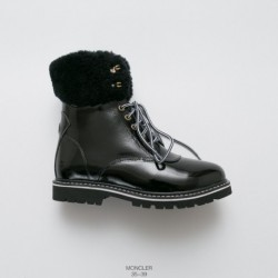 Moncler wool warm snow boots 2018 latest autumn and winter model