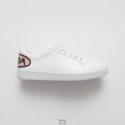 Prada Prada 2018 Latest Hot Cake Beauty Casual White Shoes Hong Kong Original Purchase Exclusive Network First Launch Fabric Or