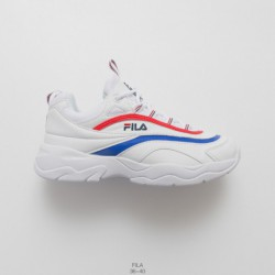 Fila FILARAY Vintage Sports UNISEX Racing Shoes Split Super Soft Bottom Brand Trainers Shoes Are Loved By Fashion Celebritie