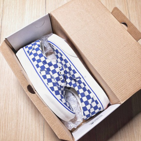e98a2900fc8867 Vans Off The Wall Black And White Checkerboard Shoes