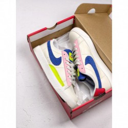 Aq4140-101 nike womens blazer low panache three primary colour colorful summer three primary colou