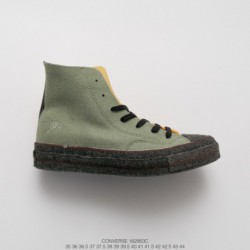 953c Converse X Jw Anderson Crossover Feel The Future Perfect Interpretation Of Art And Shoemaking Craftsmanship Using New Felt