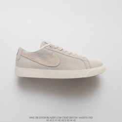 Ah3370-002, The Whole Network Starting Nike SB Zoom Blazer Low British Rose Crossover Skate Shoes With Grey Duck Upper And Shad