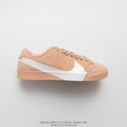 AV2253-800 FSR, Shoes Nike Blazer City Low LX Big Swoosh Skate Shoe