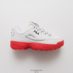 Fila FILA Disruptor 2 Large Sawtooth 2nd Generation Increased Thickness  Substrate Increased Standard UNISE e64851b61592