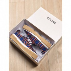 CELINE 2018 Deadstock White Shoes Debut Axico Vcluan Song Jiaxing The Same Style 2018 Spring Thick White Shoes Lining Wool One