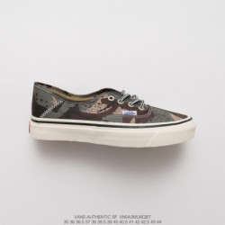 Original Version, Premium Anaheim Branch Collection Vans SF Collection Duck Vulcanize Skate Shoes Camouflage Style Code:VNOA 3m