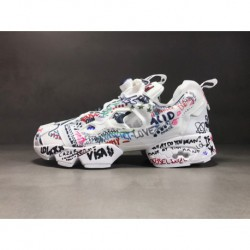 Bs7031 Graffiti: Reebok Insta Pump Fury Origina