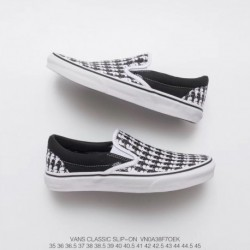 Factory Lacing Vans Karl Lagerfeld Slip On Lafayette Limited Edition Crossover Cooperative Style Code:VNOA 38f7oe