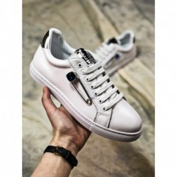 Womens, top-grain leather, factory lacing, high luxury bespoke brand fesfish fhesfish spring and summer deadstock all-match lac