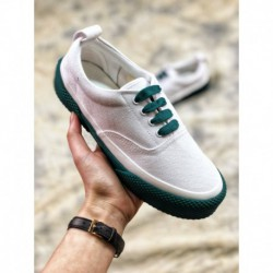 Factory lacing, leather upper lining web celebrity beauty hot cake 18ss céline 180° lace up canvas sneakers 180 collection colo