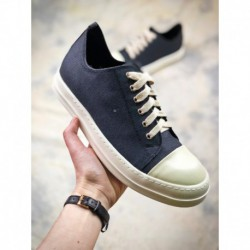 UNISEX, Factory Lacing Rick Owens DRKSHDW Scarpe Sneaker Thickness Increase Skal Collection Sport Skate Shoes Low Duck Black An