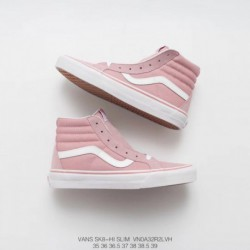 Order High Skate Board Shoes Vans Sk8 Hi 38 DX American Classic Anaheim Collection Light Pink Womens Dt Stamp Genuine Vulcanize