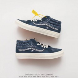 VN WTAPS X VANS SYNDICATE Pitch-Black crossover market top edition one to one original drawer bo