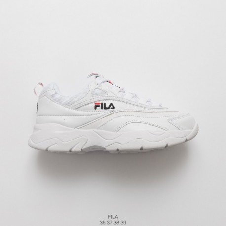 1ca04074c01 Increased Preference Fila Vintage Casual Hard Wearing Leather Upper Thickh  Sportshoe