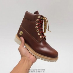Tb010068 premium knocking high timbers high boots - premium full grain leather and matte leather manufactur